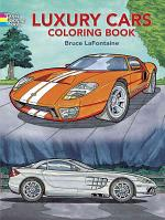 Luxury Cars Coloring Book