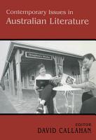 Contemporary Issues in Australian Literature PDF