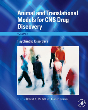 Animal and Translational Models for CNS Drug Discovery  Psychiatric Disorders PDF