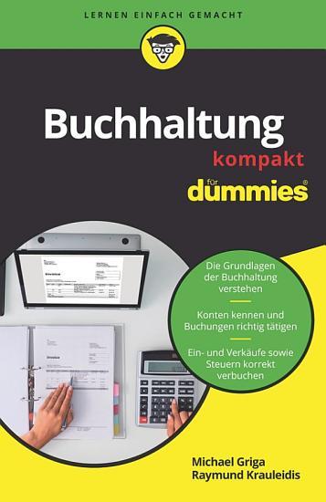 Buchhaltung kompakt f  r Dummies PDF