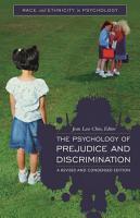 The Psychology of Prejudice and Discrimination PDF