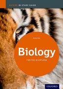 Biology  IB Study Guide Book