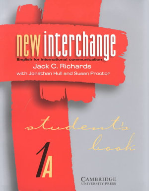 New Interchange Student s Book 1A PDF