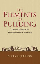 The Elements of Building