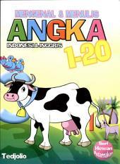 Mengenal & Menulis Angka 1-20 (Indonesia - Inggris)