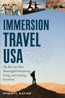 Immersion Travel USA PDF