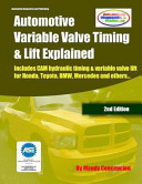 Automotive Variable Valve Timing and Lift Explained