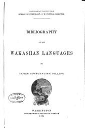 Bibliography of the Wakashan Languages: Issue 19