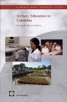 Tertiary Education in Colombia PDF