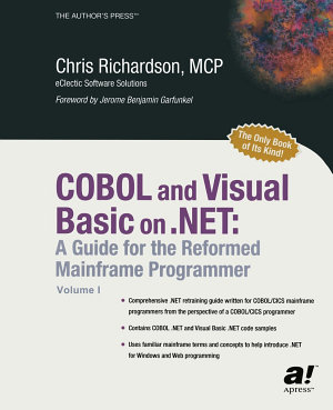 COBOL and Visual Basic on  NET PDF