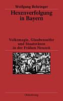 Hexenverfolgung in Bayern PDF