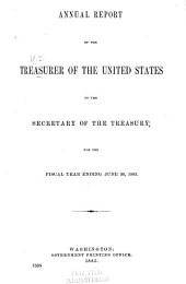 Annual Report of the Treasurer of the United States to the Secretary of the Treasury