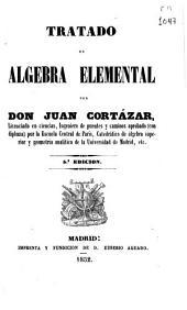 Tratado de algebra elemental