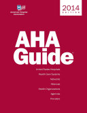 AHA Guide to the Field of Health Care 2014 PDF