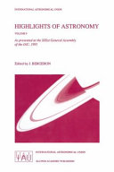 Highlights of Astronomy  Volume 9