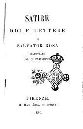 Satire odi e lettere di Salvator Rosa illustrate da G. Carducci