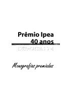 Pr  mio Ipea  40 anos PDF