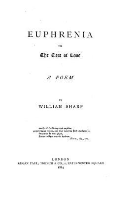 Euphrenia  Or  The Test of Love