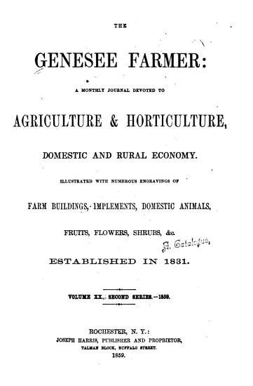 Genesee Farmer PDF