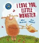 I Love You Little Monster Book PDF