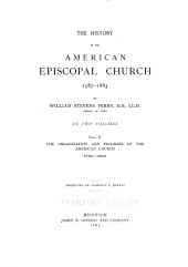 The History of the American Episcopal Church, 1587-1883: Volume 2