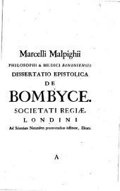 Marcelli Malpighii... Opera omnia...