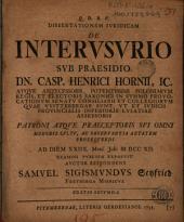 Dissertationem iuridicam de interusurio