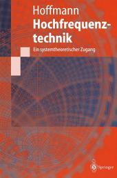 Hochfrequenztechnik: Ein systemtheoretischer Zugang