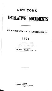 New York Legislative Documents: Volume 17