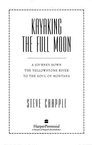 Kayaking the Full Moon PDF