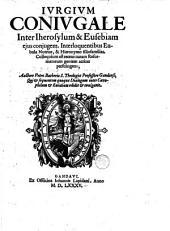 Iurgium coniugale inter Iherosylum et Eusebiam ejus conjugem ....