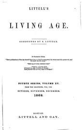 Littell's Living Age: Volume 103