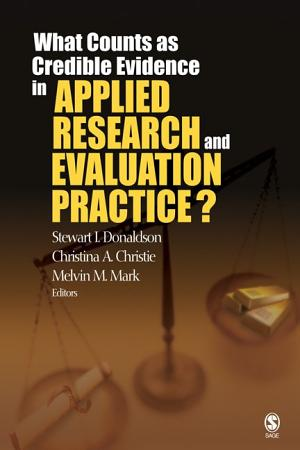 What Counts as Credible Evidence in Applied Research and Evaluation Practice  PDF