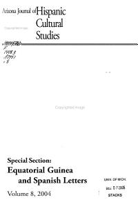 Arizona Journal of Hispanic Cultural Studies PDF