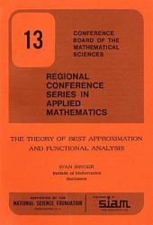 The Theory of Best Approximation and Functional Analysis