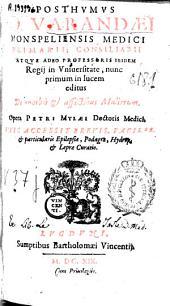 Posthumus Io. Varandaei ... De morbis & affectibus mulierum