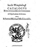 Catalogus Episcoporum Argentinensium