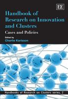 Handbook of Research on Innovation and Clusters PDF