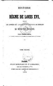 Historie du Regne de Louis XVI