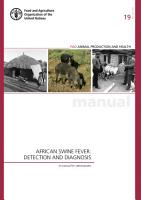 African swine fever  ASF  detection and diagnosis PDF