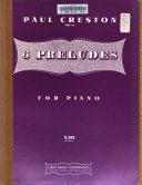 6 preludes for piano  op  38
