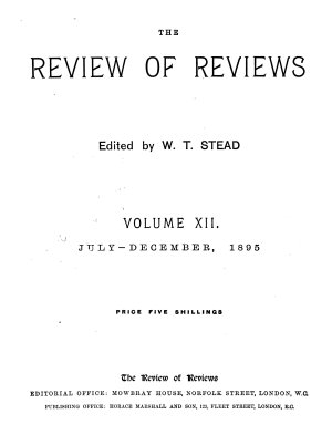 Review of Reviews PDF