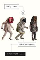 Writing Culture and the Life of Anthropology PDF
