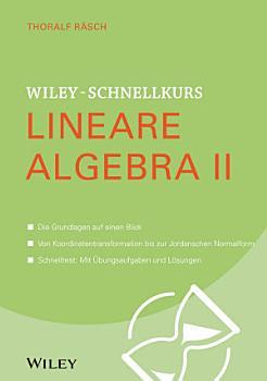 Wiley Schnellkurs Lineare Algebra II PDF