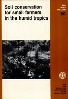 Soil Conservation for Small Farmers in the Humid Tropics PDF