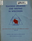Teaching, Speaking and Writing in Wisconsin