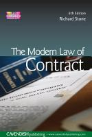 The Modern Law of Contract PDF