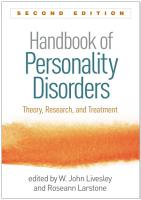 Handbook of Personality Disorders  Second Edition PDF
