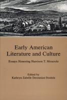 Early American Literature and Culture PDF
