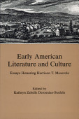 Early American Literature And Culture